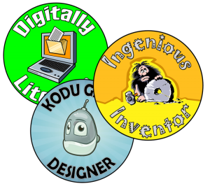 Example of some of our year 7 badges