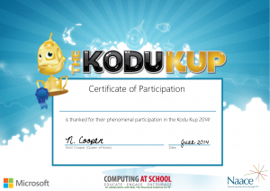 Participation Certificates