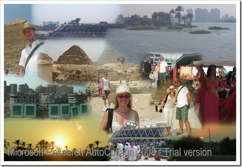 Holiday in Egypt Collage