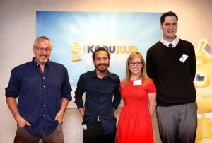 The Kodu Kup judges