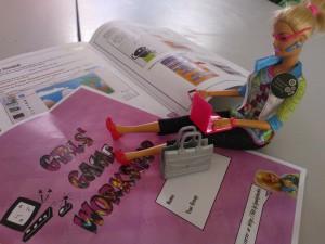 Geeky Barbie