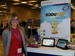 Nicki Cooper at Microsoft's Global Forum in Barcelona