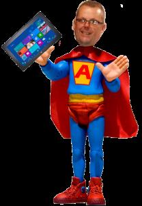 """Stuart Ball """"App Man"""""""