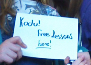 Northfleet School for Girls gives Kodu lessons