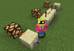 Minecraft Logic Gates